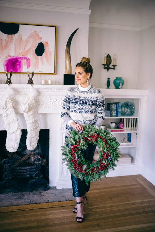 12.15 a very merry holiday prep (J Crew campbell blazer in sparkle ...