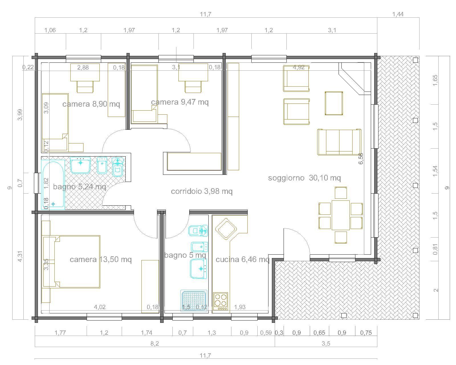 Appartamento 100 Mq Planimetria Cerca Con Google Planimetrie Case Prefabbricate Appartamento