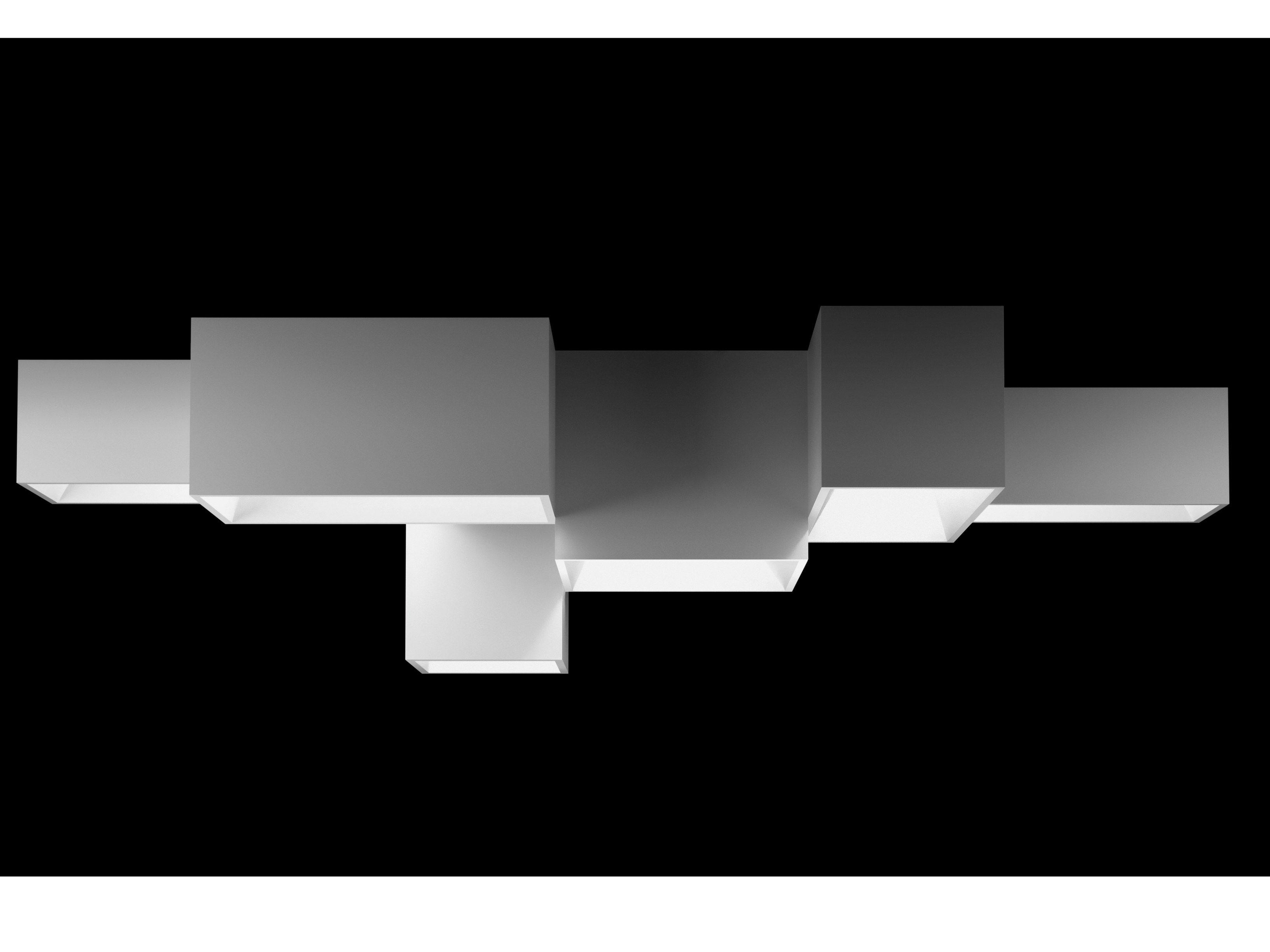 Elegant Modular Lighting System Link by Vibia Design  sc 1 st  Pinterest & Lámpara de techo modular LINK XXL by Vibia diseño Ramón Esteve ... azcodes.com