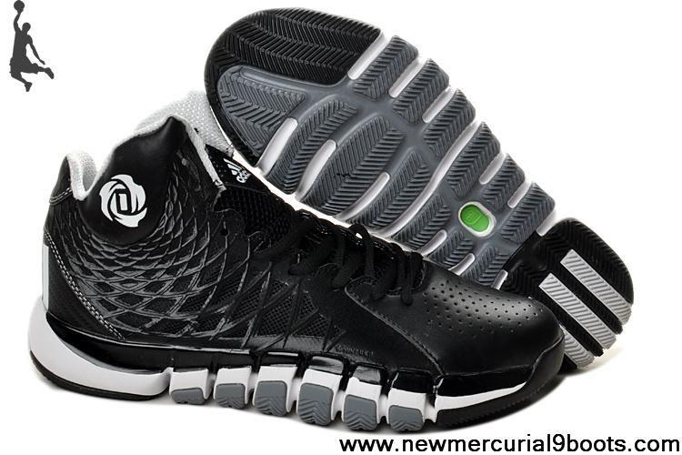 Latest Listing Discount Q33232 Black White Adidas Derrick Rose 773 II