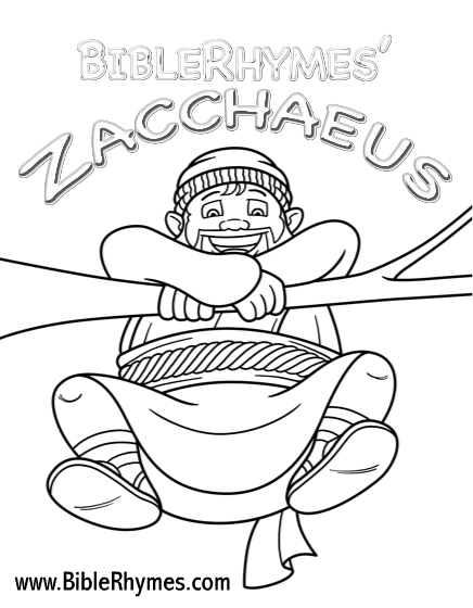 Zacchaeus Coloring Books Coloring Pages Printable Coloring Pages