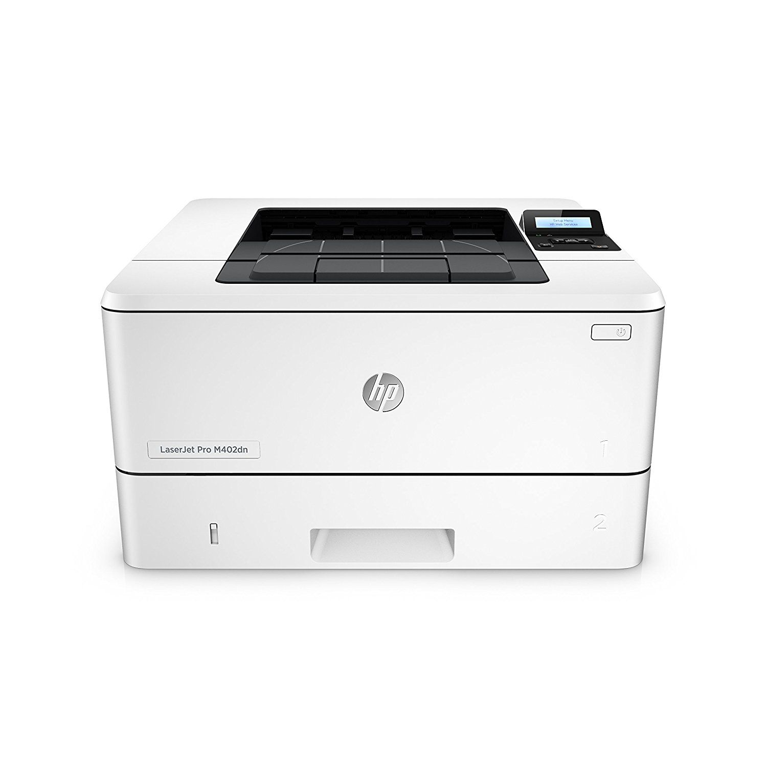 Hp Laserjet Pro M402dn Laser Printer With Built In Ethernet Double Sided Printing Amazon Dash Replenishment Ready C5f94 Laser Printer Printer Best Printers