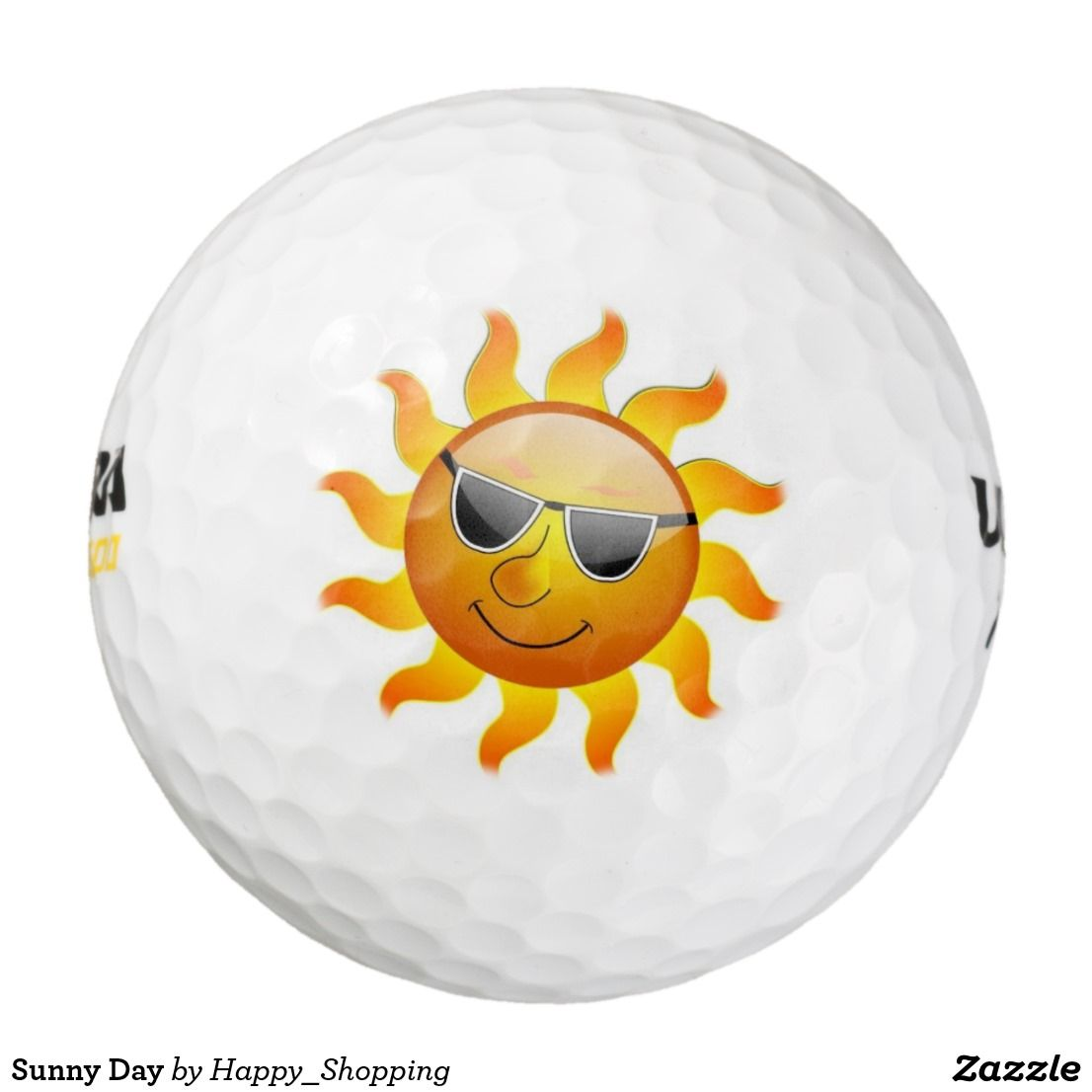 Sunny Day Golf Balls Zazzle Golf Balls