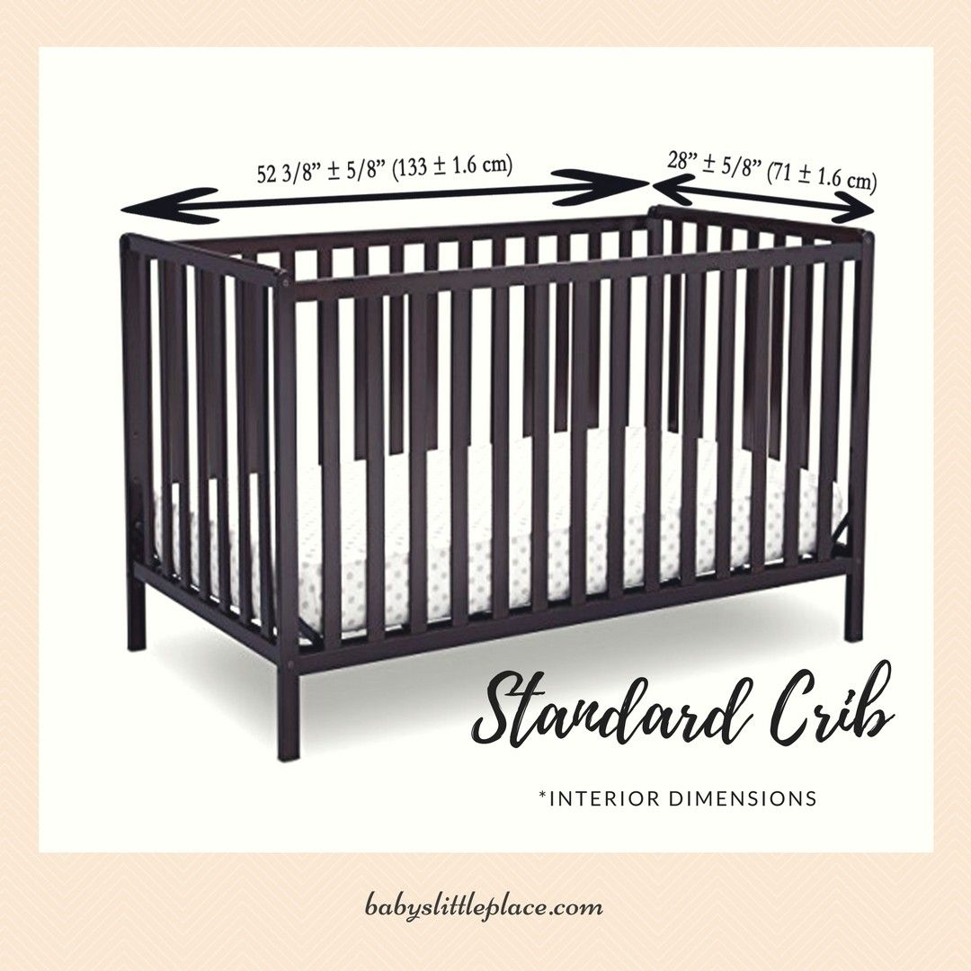 Standard Size Baby Cribs Are Full Size Cribs Of Different Types