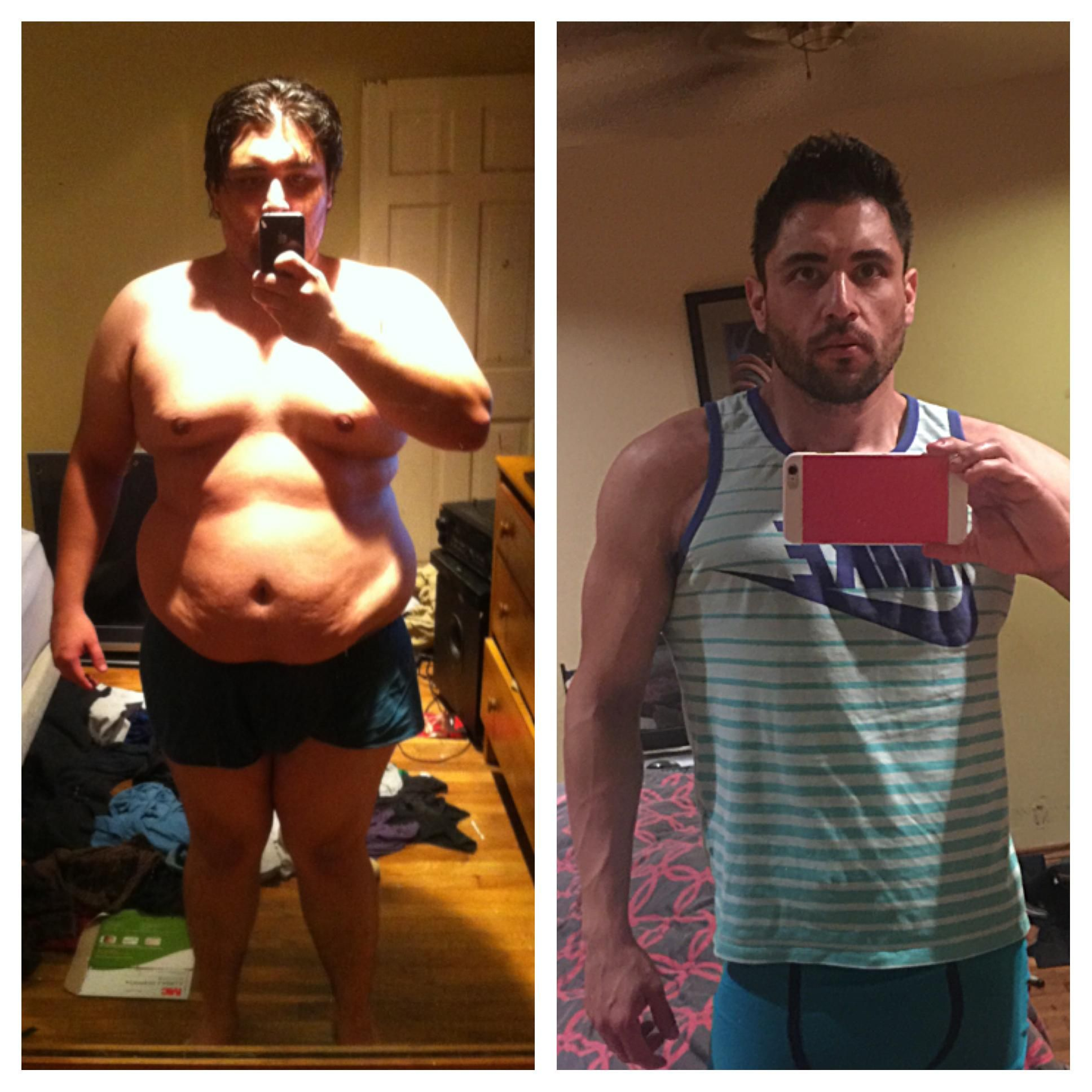 m 28 6 300 lbs 175 lbs 125 lbs 21 months i m back with a new
