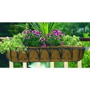 Cobraco 36 In Kingston Horse Trough Metal Planter Ht102 Bz At The