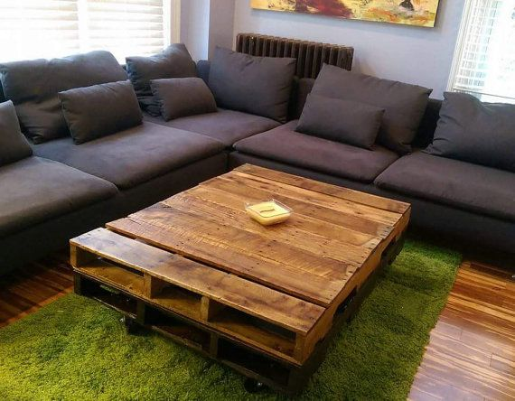 Coffee Tables Out Of Pallets