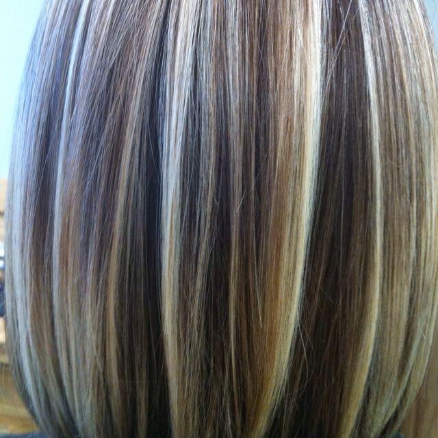 Pics Of Foiled Hair Beautiful Foiled Color Hair Nails Hair