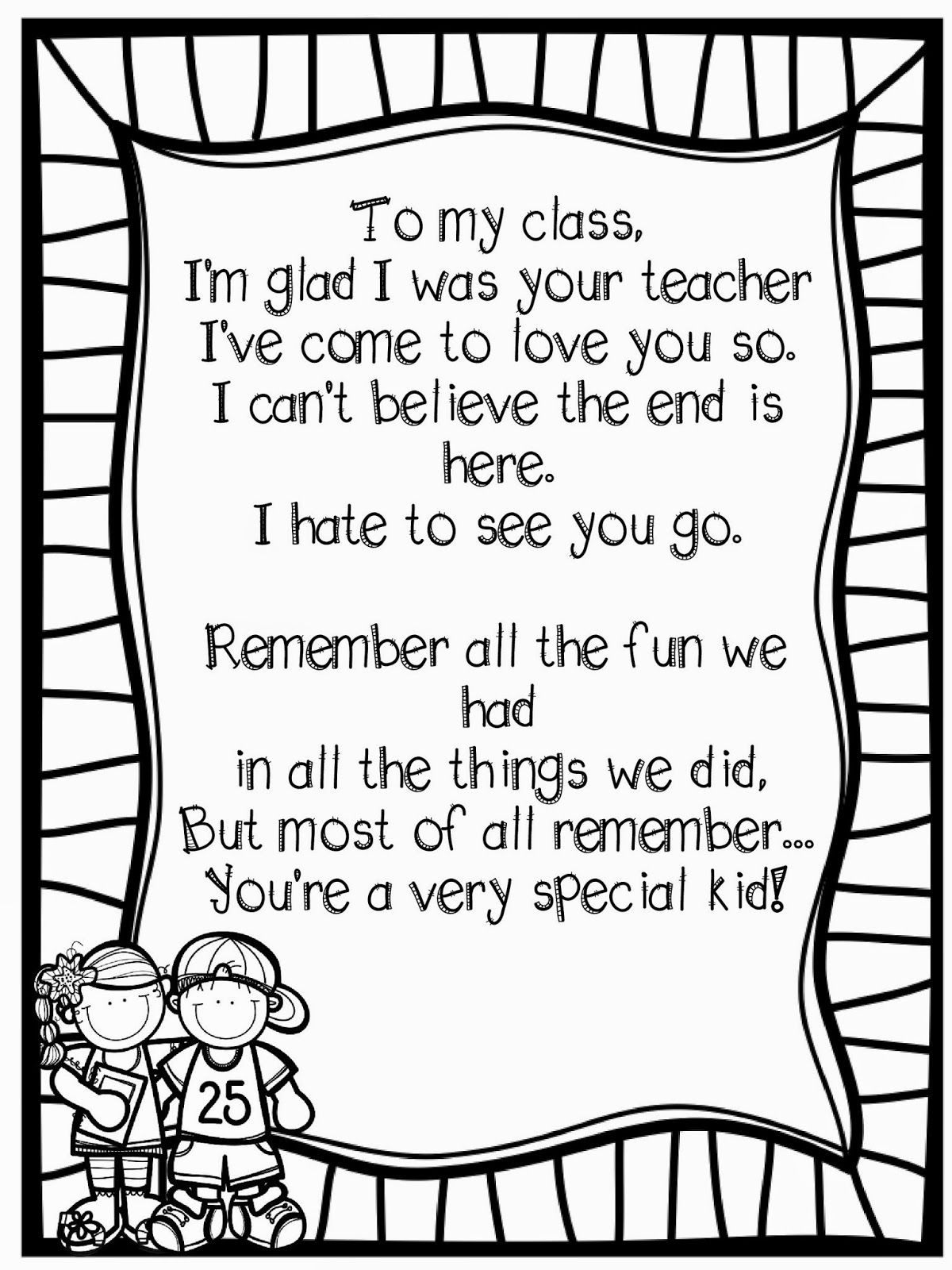 Adventures of Teaching Anyone Need a FREEBIE Poem