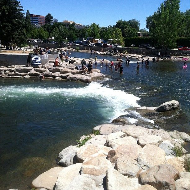 Cool Off In The Refreshing Truckee River In Downtown Reno With