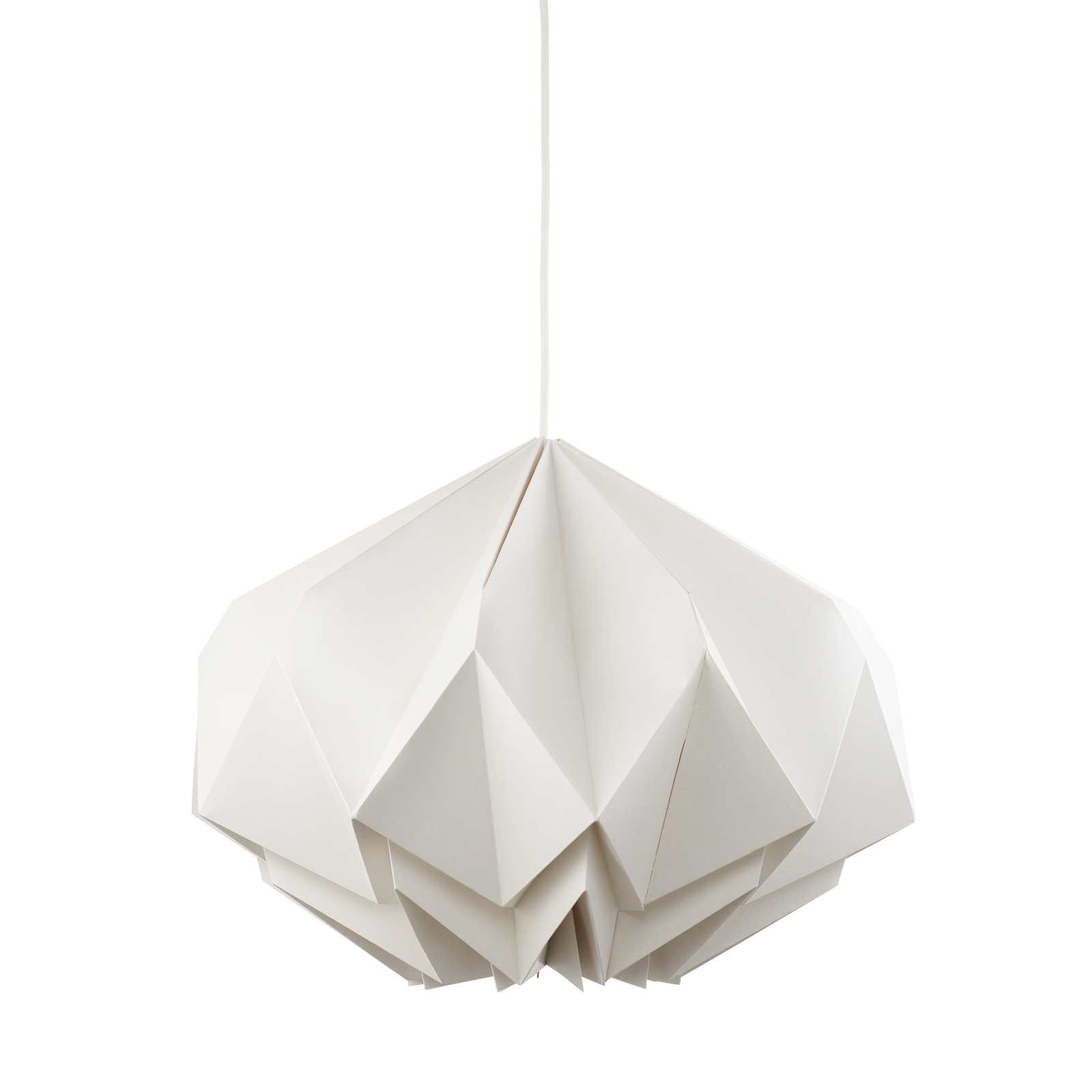 Diamond pendel designed by Benny Frandsen It s made of thick paper