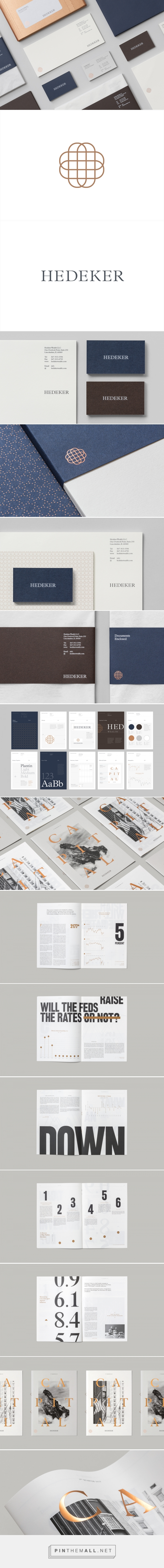New Brand Identity for Hedeker by Socio Design — BP&O created via