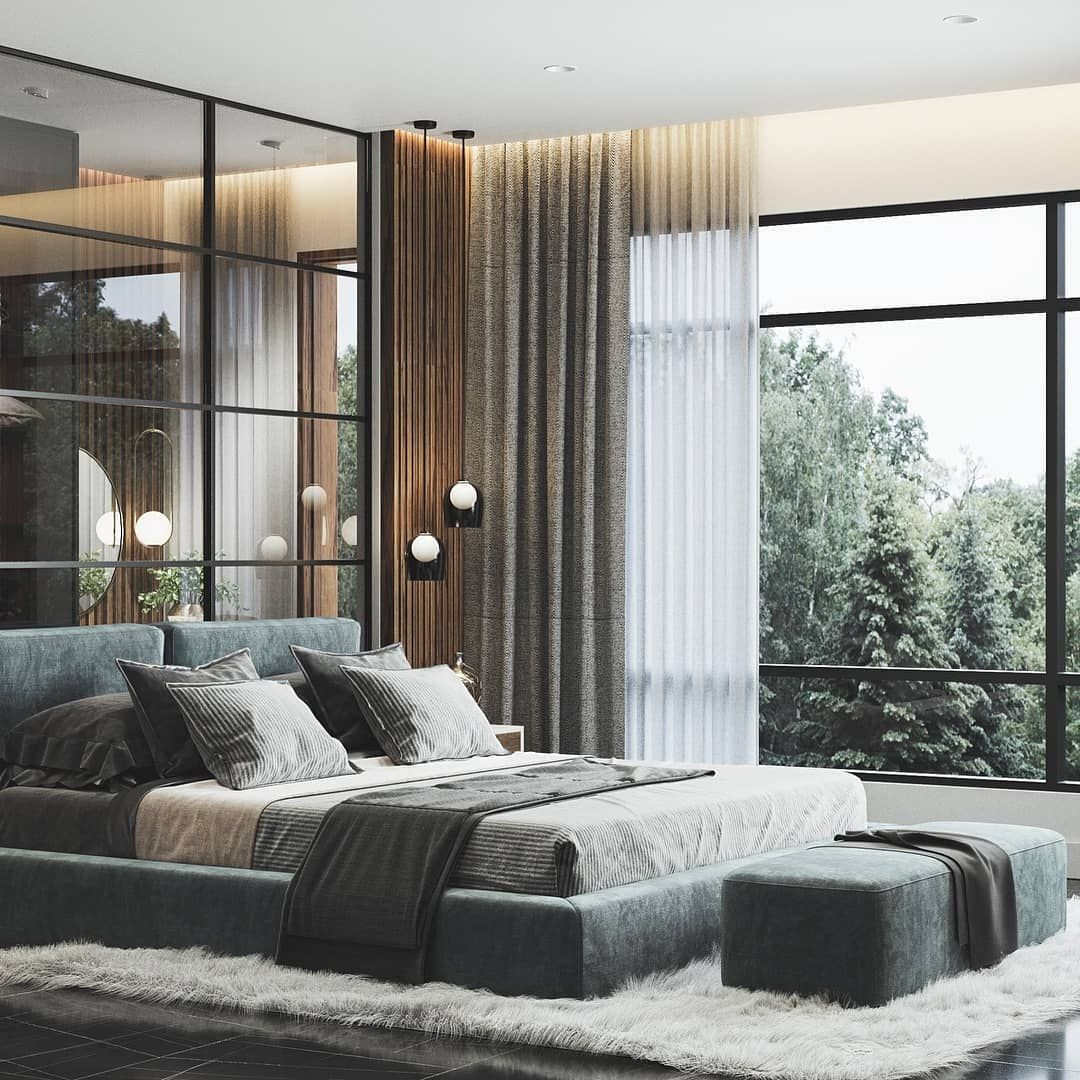 "Dome Home Design Ideas: ZenQ Home On Instagram: ""Master Bedroom Dome Right, Glass"