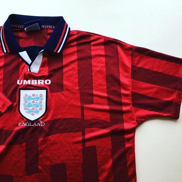 Link In Bio England Threelions Wembley Umbro Umbrofootball France98 Worldcup Footba England Football Shirt Vintage Football Shirts Vintage Football