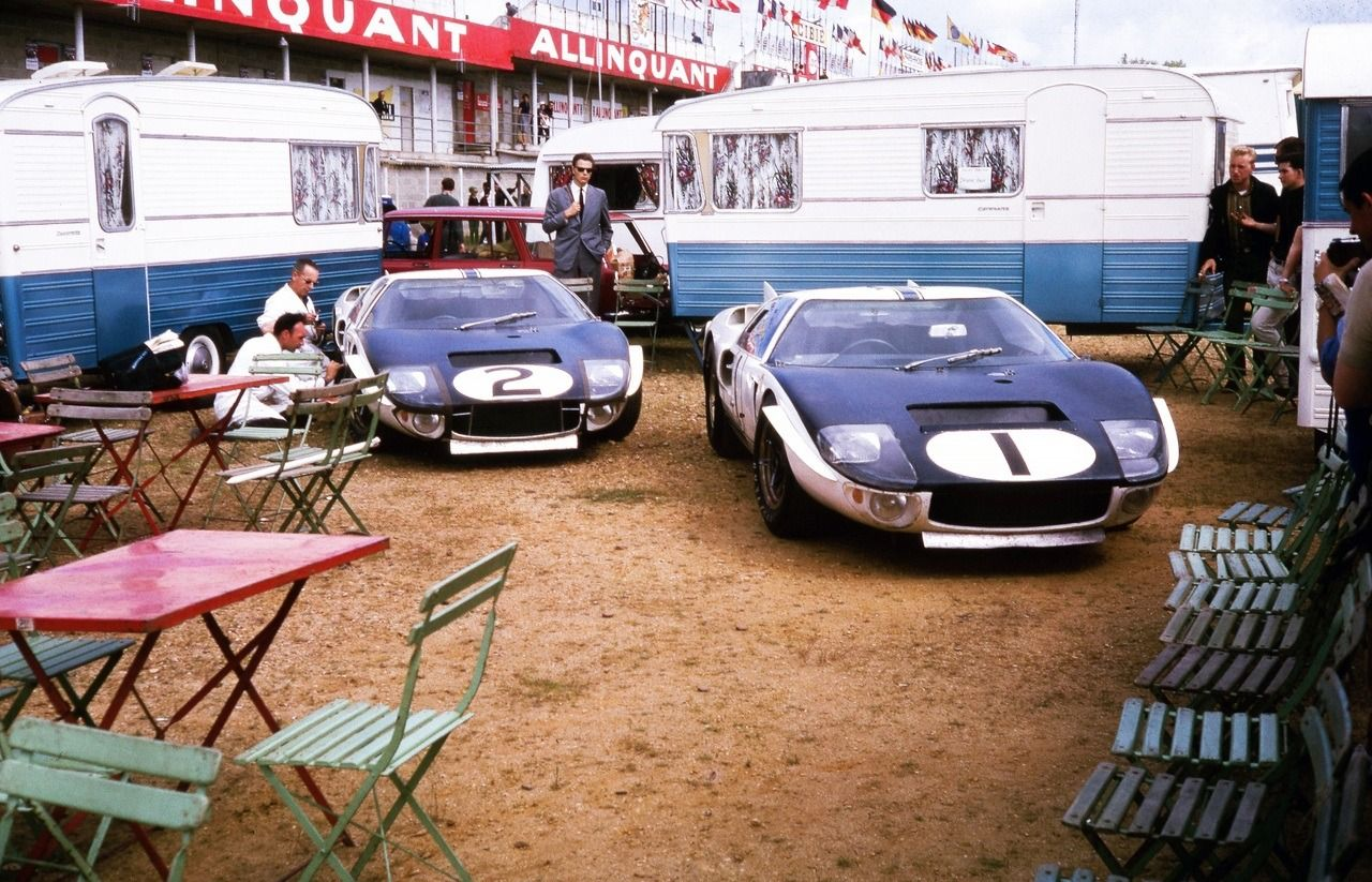 1965 24 Hours Of Le Mans Photo By Lh The 1 Ken Miles Bruce