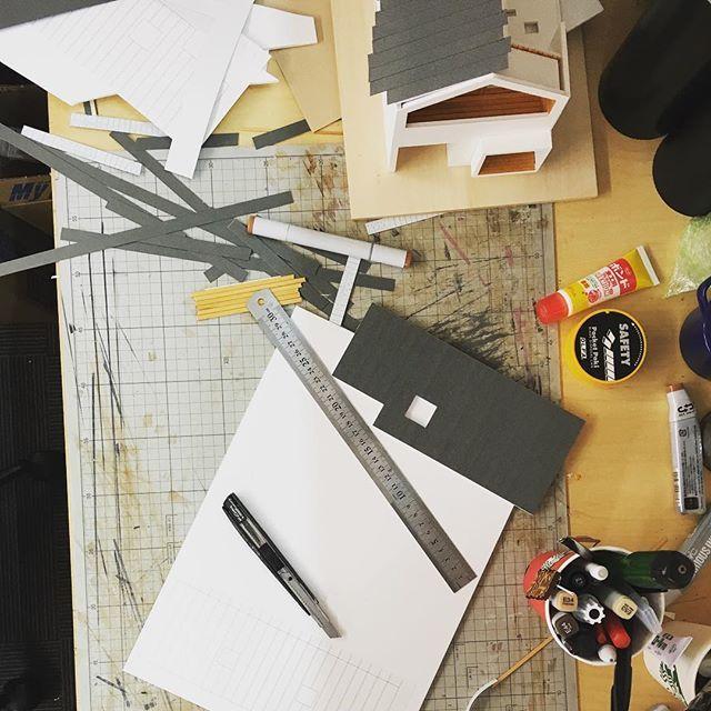 今週はもっぱら模型のお仕事だぁ 模型 Architecturemodel Plan