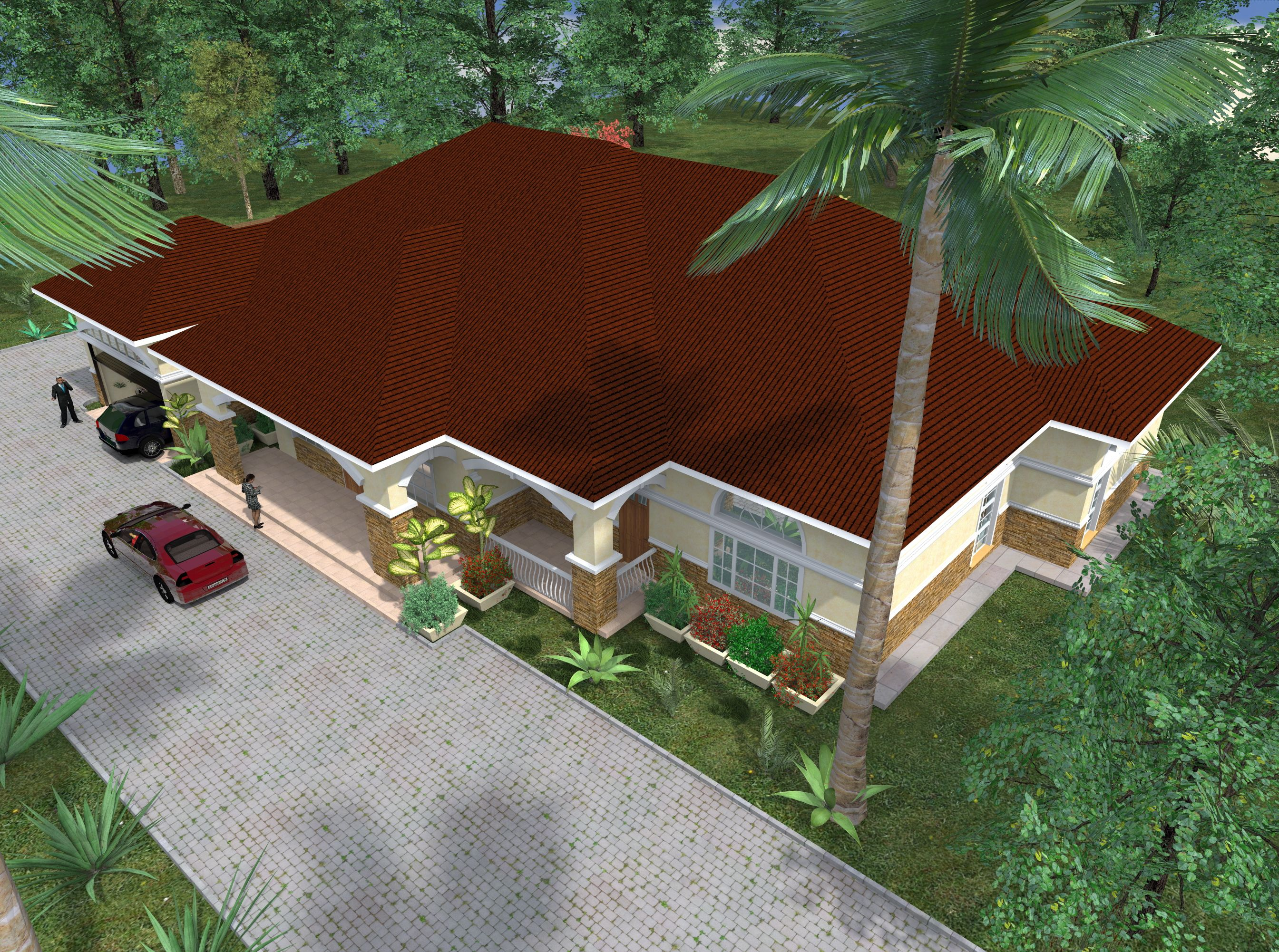 Proposed Amarisa Apartments Location Thome Nairobi Kenya Firm