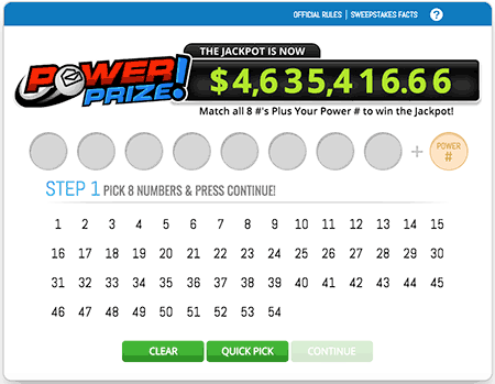 PCH Lotto Power Prize | Golden coin vip in 2019 | Lotto games