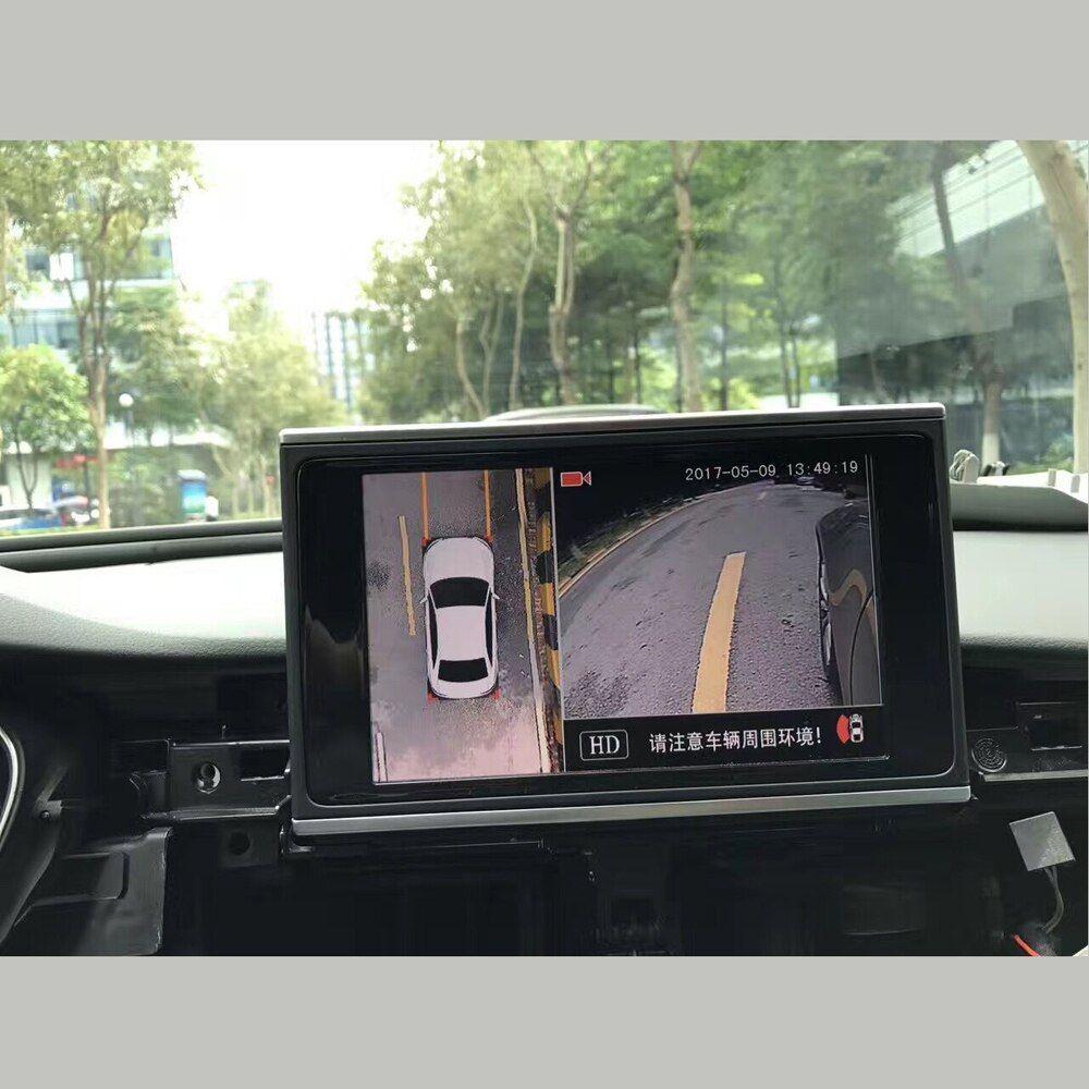 360 view dash car camera system car dvr camera interface