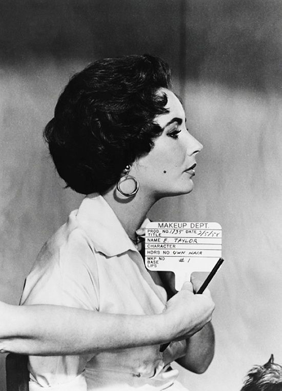 own hair elizabeth taylor s hair test for cat on a hot tin roof   own hair elizabeth taylor s hair test for cat on a hot tin roof