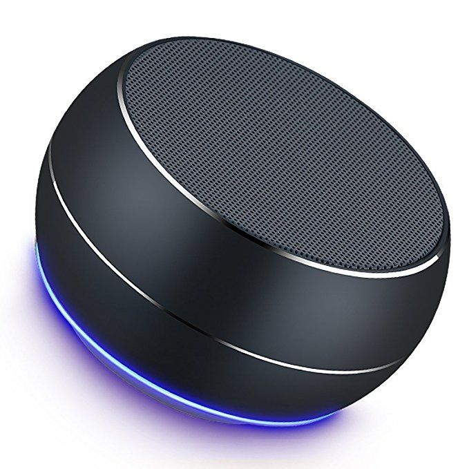Portable Bluetooth Speakers Lenrue Mini Wireless Outdoor Rechargeable Speakers With Led Built Bluetooth Speakers Portable Wireless Speakers Bluetooth Bluetooth