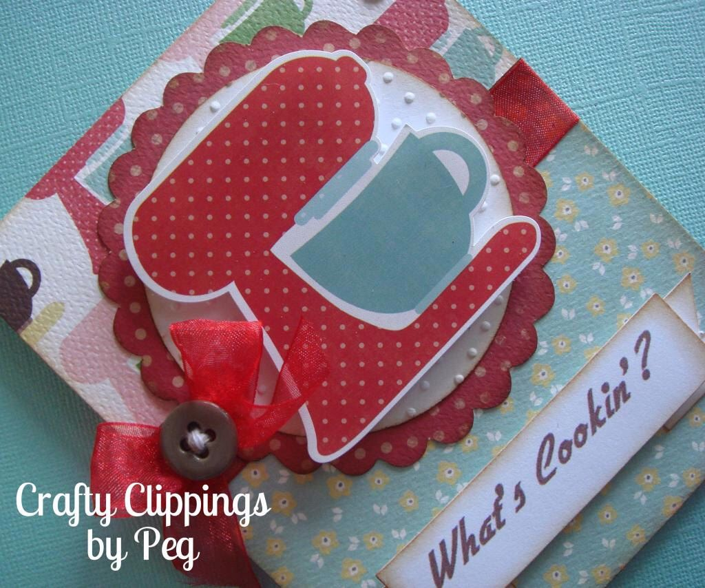 Handmade Card Baking Card What S Cookin Kitchen Aid Mixer Thank