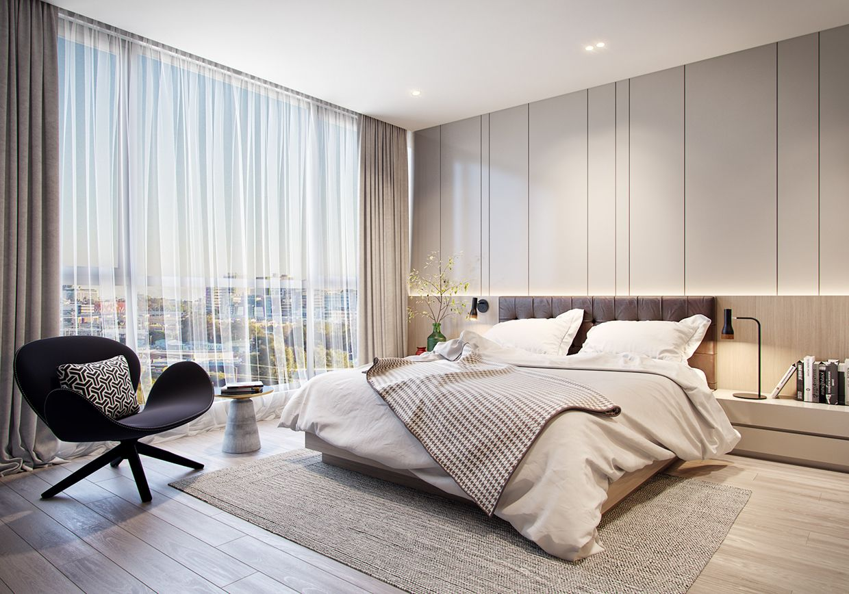 3 master bedroom apartments  Phòng ngủ   DECO Chambre parentale  Pinterest  Bedrooms