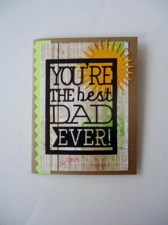 by justforunotes on etsy  etsy dad birthday card