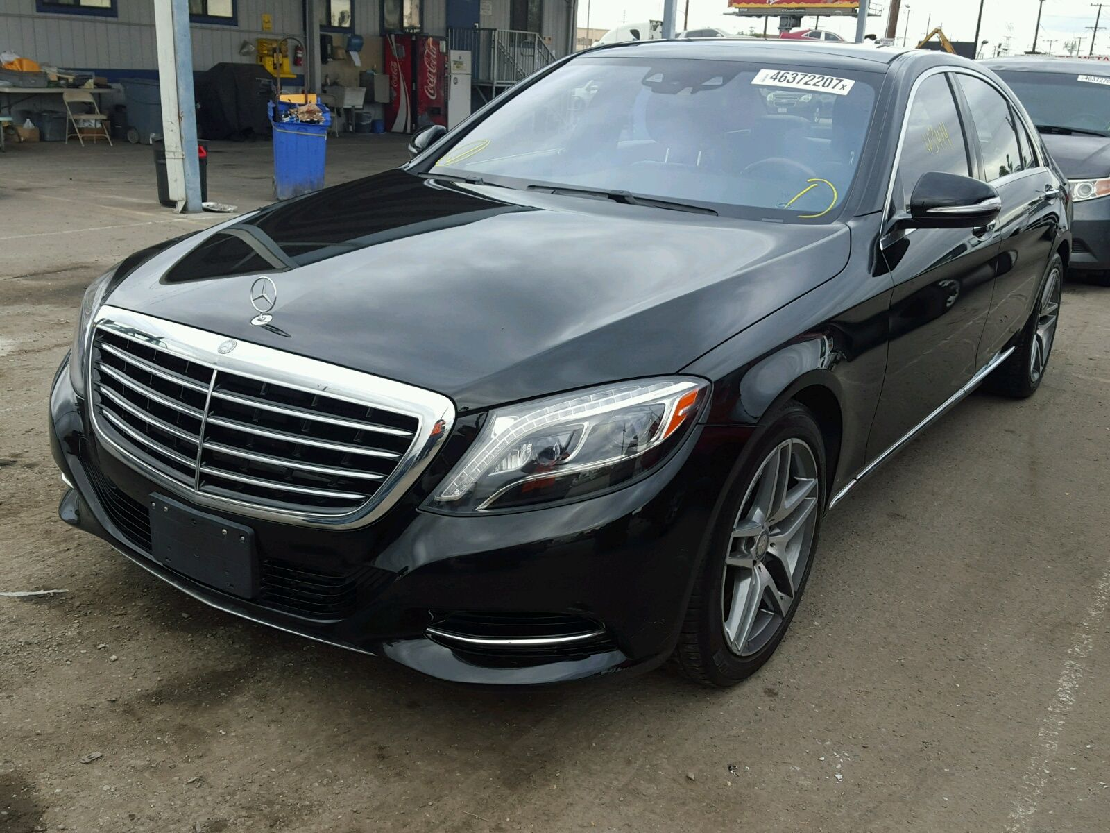 Salvage 2015 Mercedes benz S550 Salvage Car Auctions
