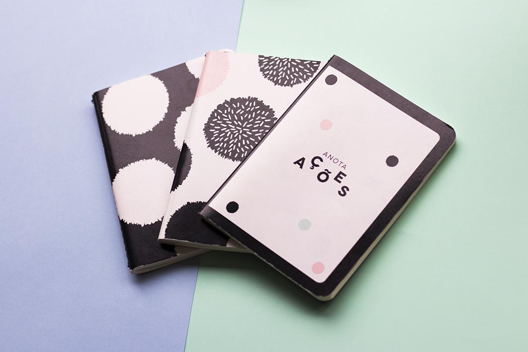 conjunto de cadernos pontos poas Imaginarium  #imaginariumlovers