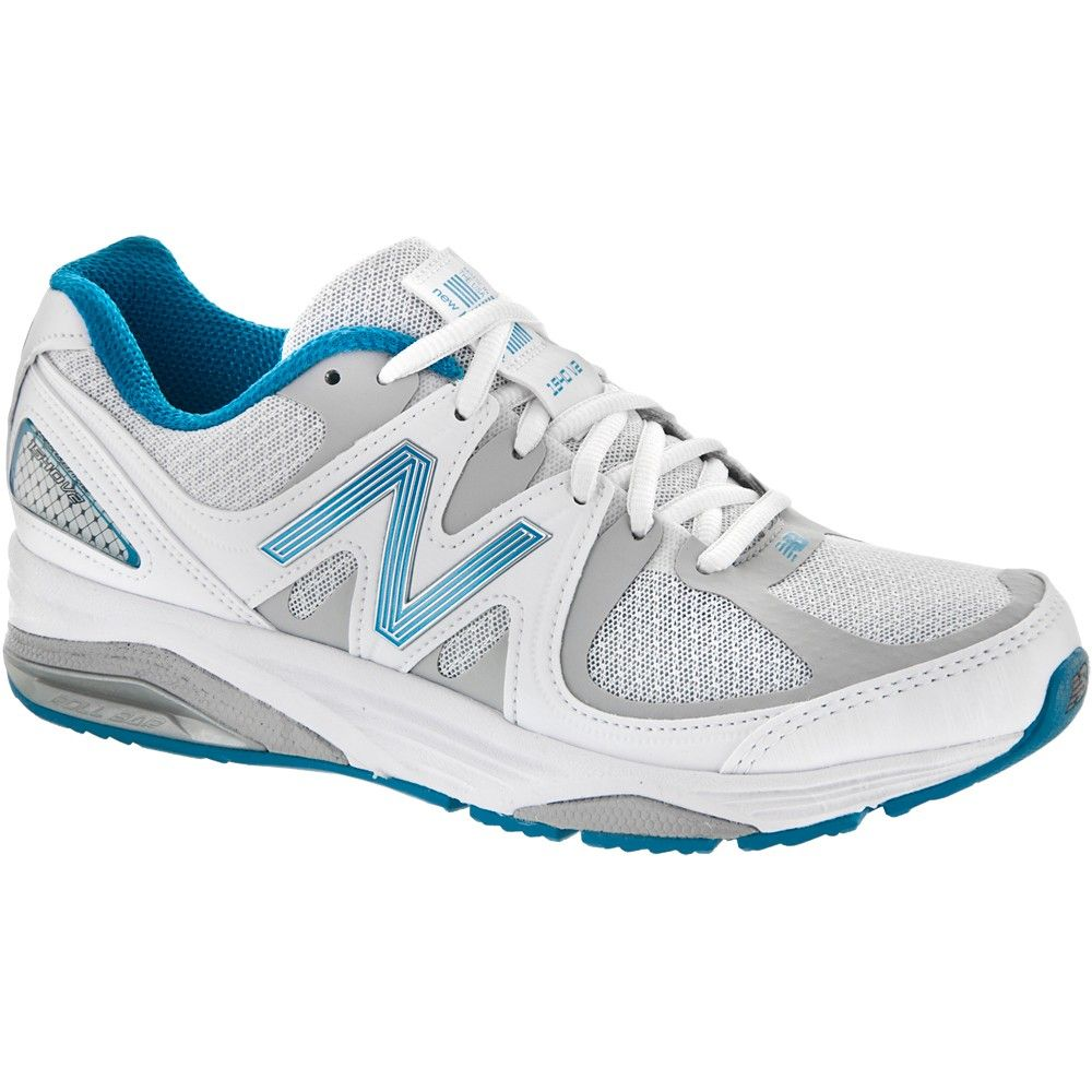 red white and blue new balance shoes,New Balance Women's White/Blue