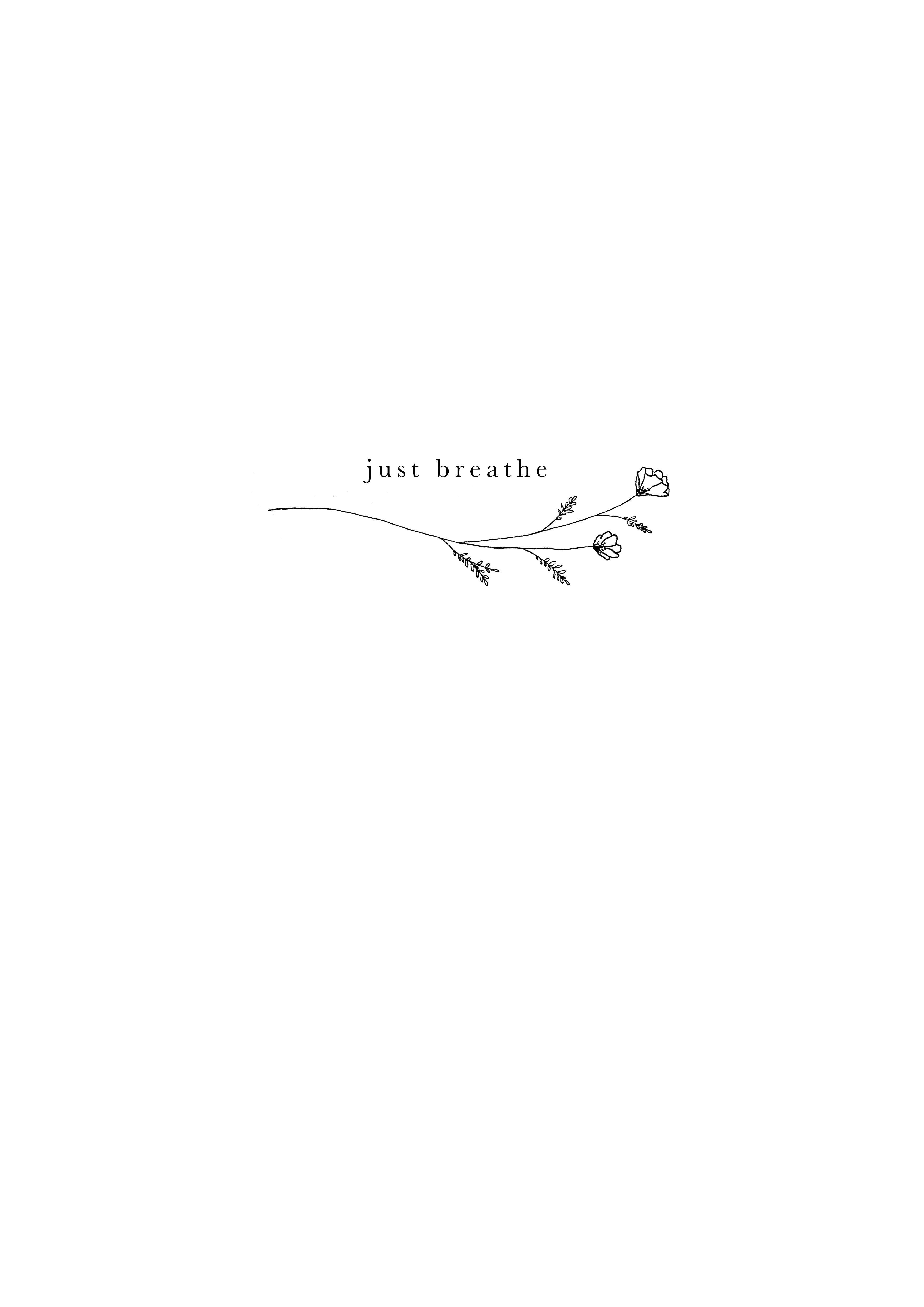 Pin On Ink In 2020 Simple Quote Tattoos Breathe Tattoo Word Tattoos