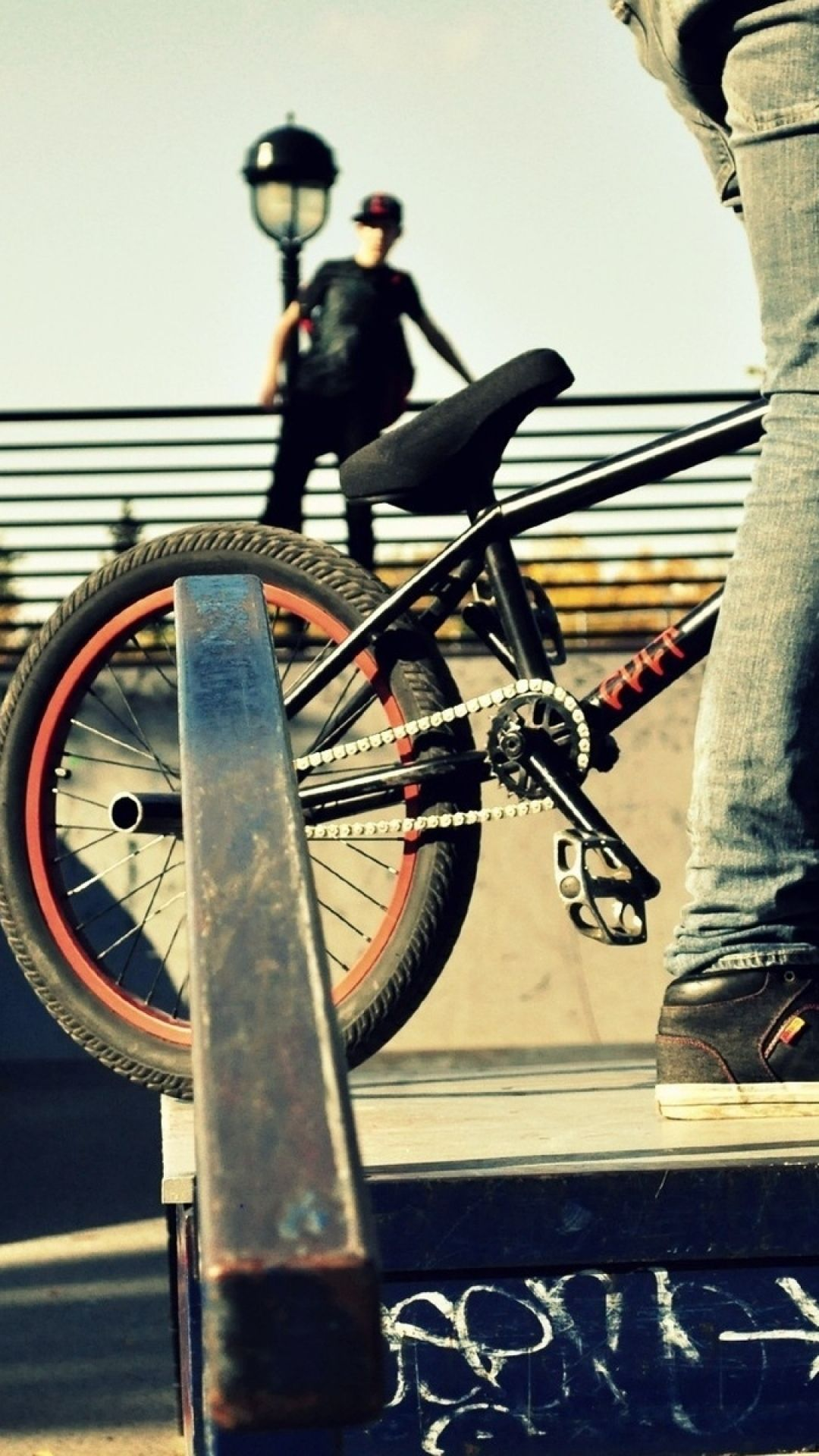Download Wallpaper 1080x1920 Sports People Bmx Bike Sony Xperia