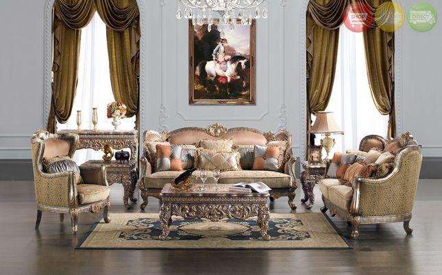 Traditional Upholstery French European Design Formal Living Room Elegant Living Room Furniture Formal Living Room Sets Formal Living Room Furniture