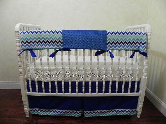 Sale  Ready to Ship Bumperless Baby Crib by BabyBeddingbyJBD