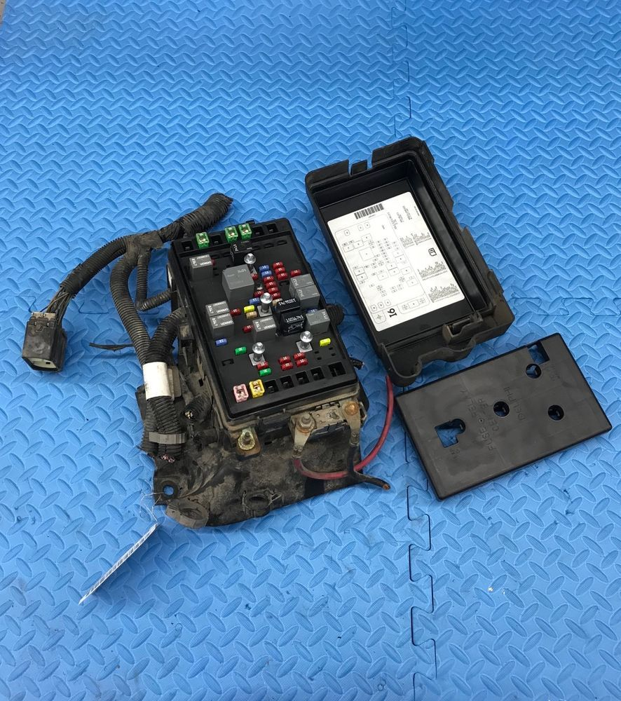 hight resolution of chevrolet gmc gm part engine relay fuse power distribution junction box 15134408 gm