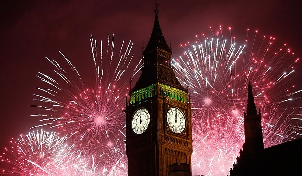 2020 NYE Fireworks Live in London in 2020 New years eve