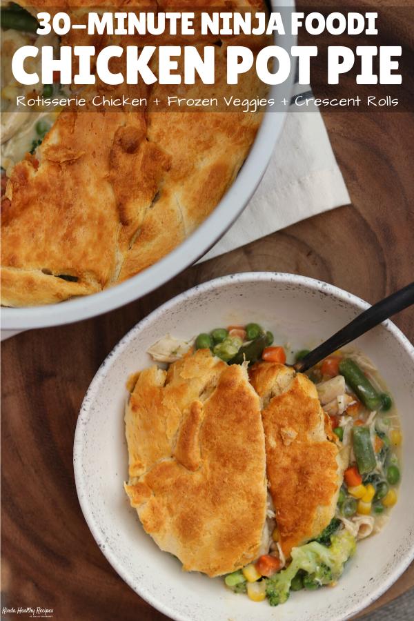 Ninja Foodi Chicken Pot Pie Recipe