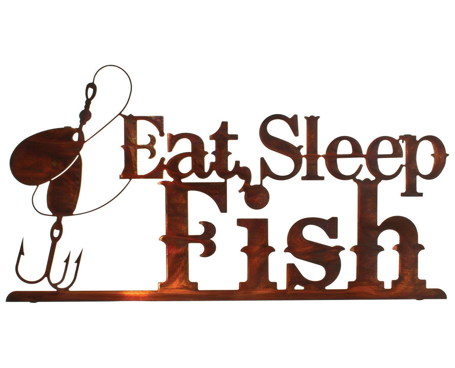 Fishermanus advice metal wall art sculpture products pinterest