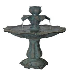 Garden Treasures Antique 2 Tier Indoor/Outdoor Fountain With Pump