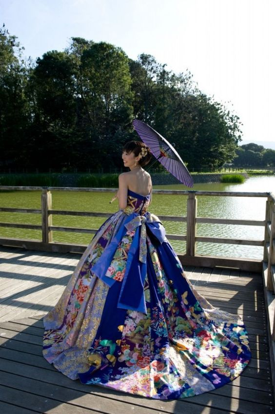 inspired gowns Asian ball