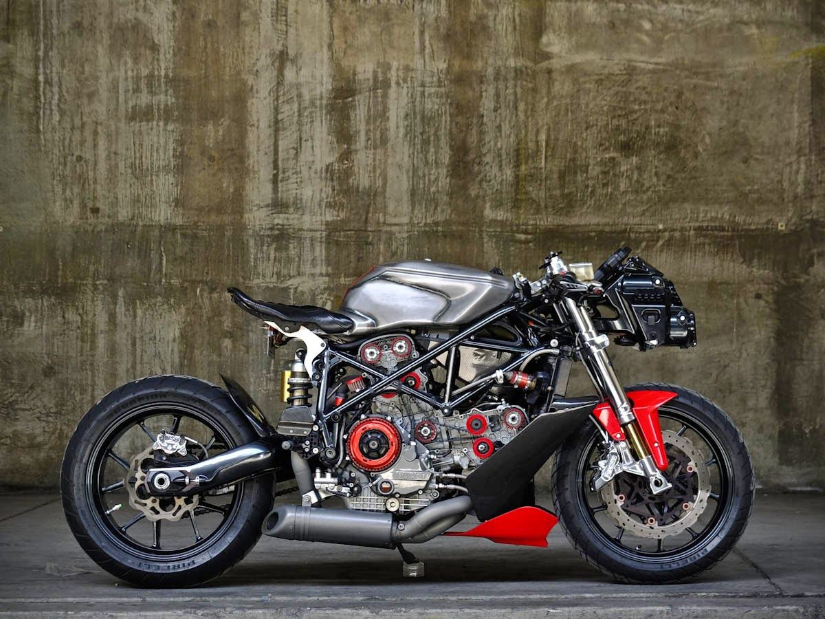 Pin By Michael Terrazas On For Those Who Ride Bikes Hotties Clubs Ducati 749 Bike Exif Ducati Monster Custom