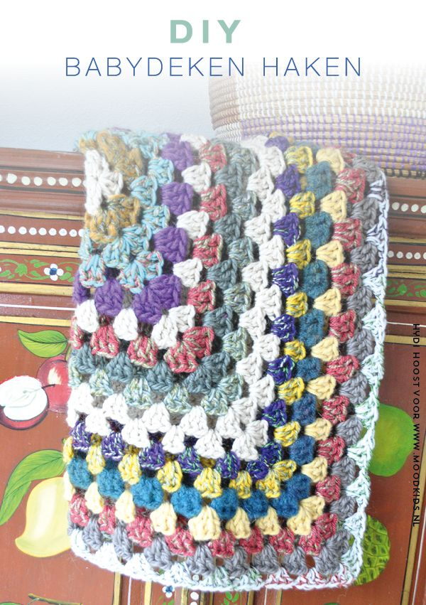 Babydeken Haken Een Granny Square Patroon Things I Should Try To