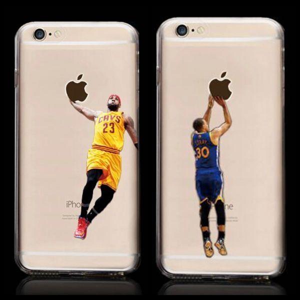lebron dunking apple logo case. new kobe bryant stephen curry basketball stars case for iphone 6s michael jordan lebron james hard lebron dunking apple logo n