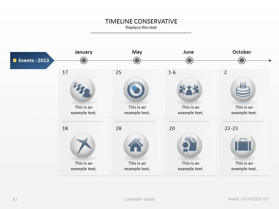 use this slide for presenting events  accomplishments and plans   timeline  planning