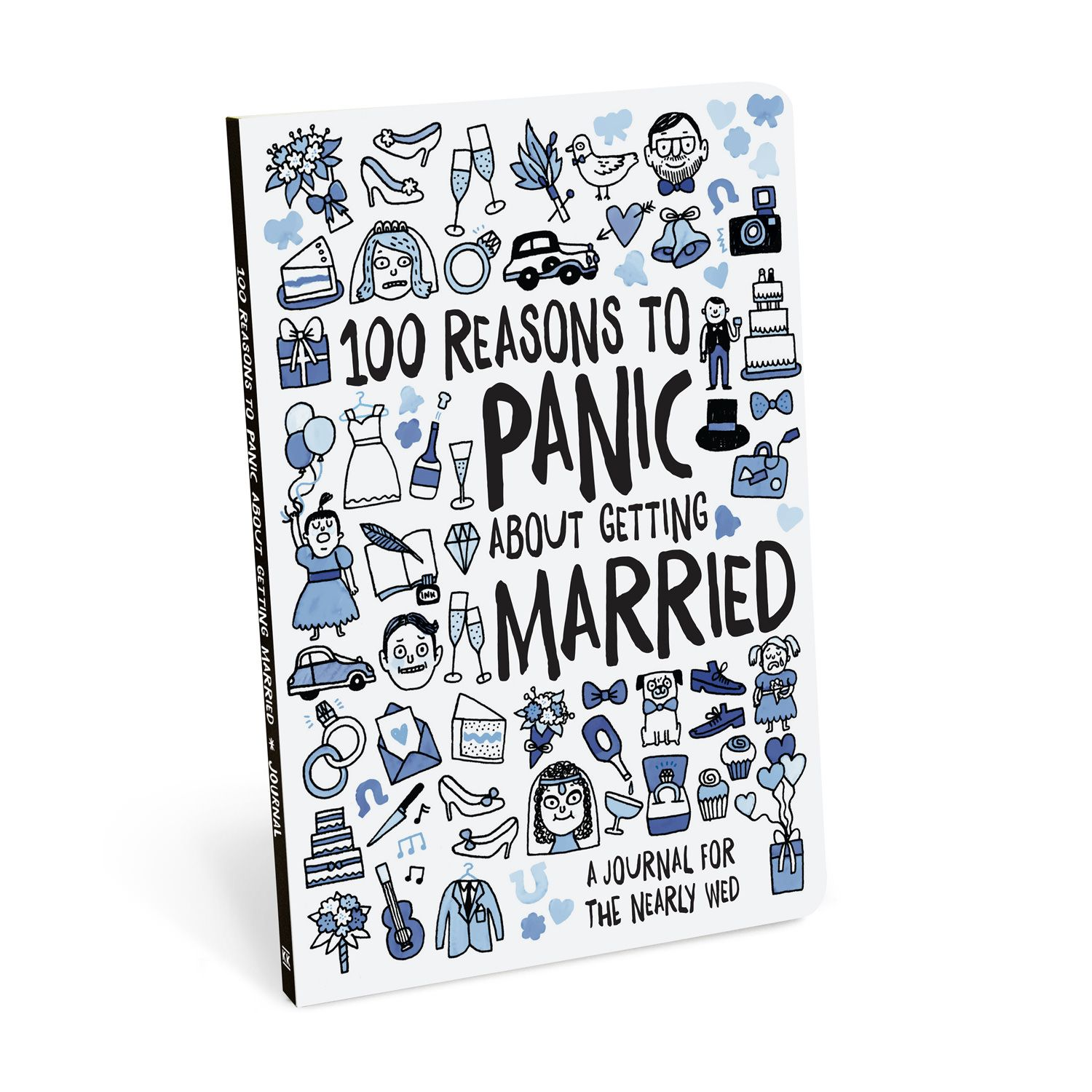 Knock Knock 100 Reasons to Panic about Getting Married Journal is a ...