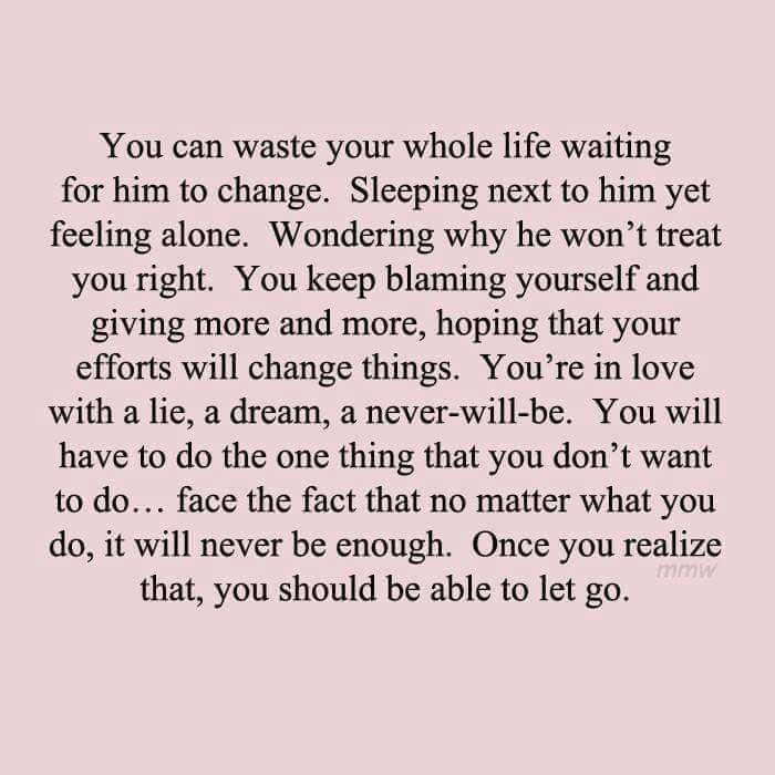 Don't waste it...