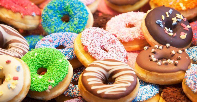 طريقة عمل دونات بدون بيض Doughnut Food Sugar Industry