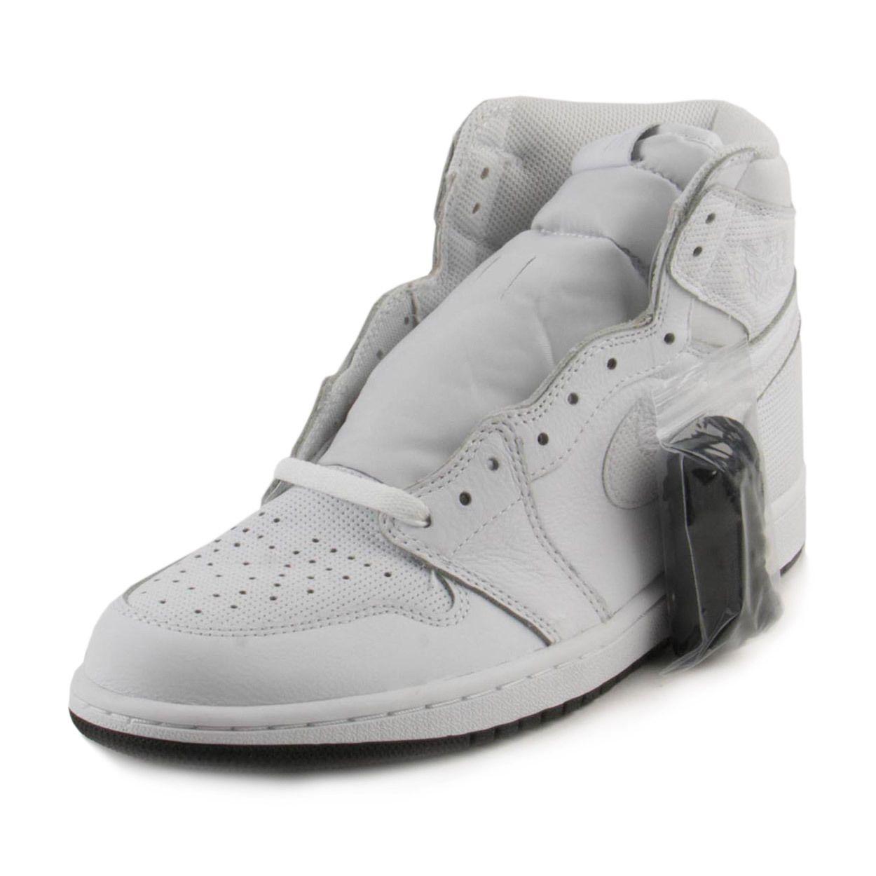 huge selection of 1c565 c66b4 Nike Mens Air Jordan 1 Retro High OG White Black 555088-100