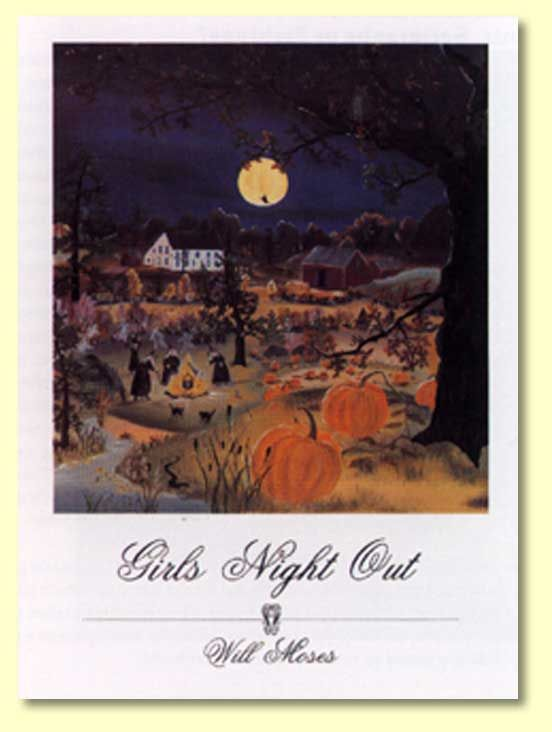 Girls Night Out Will Moses My Favorite Print I Hang On Family Room Wall For The Fall Season